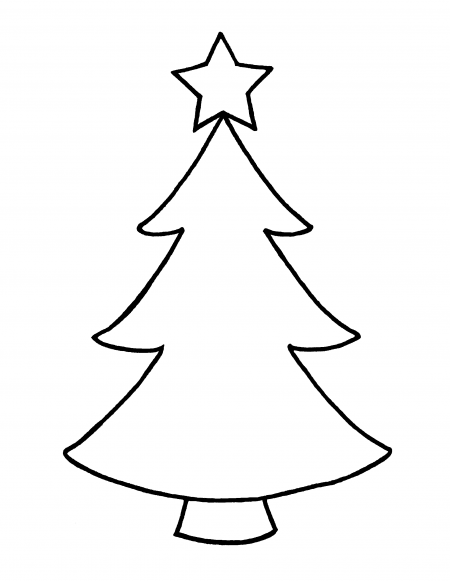 Christmas Tree Star Outline image gallery.
