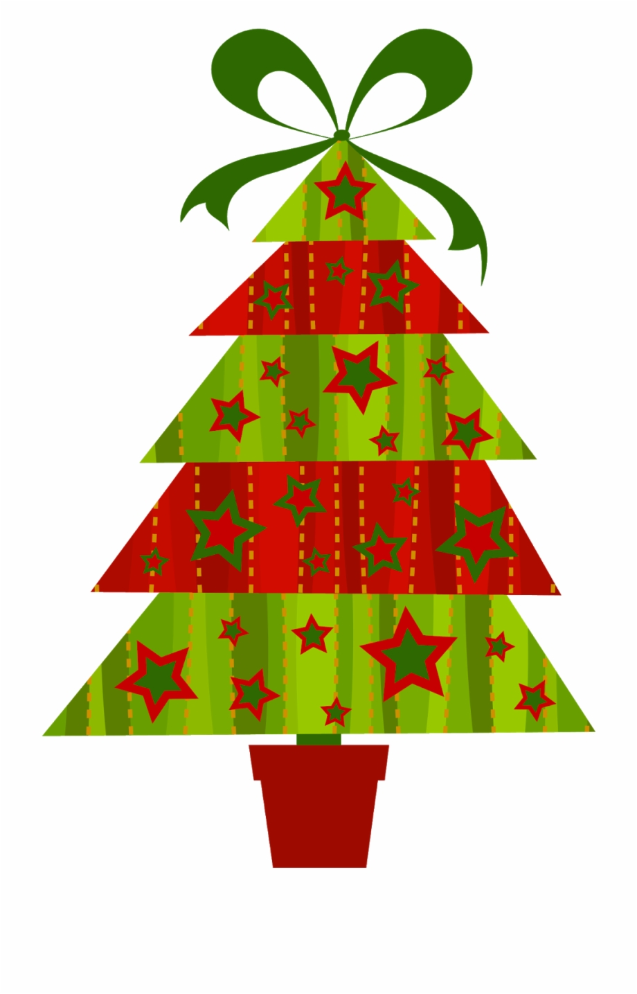 Cartoon Christmas Tree Png.
