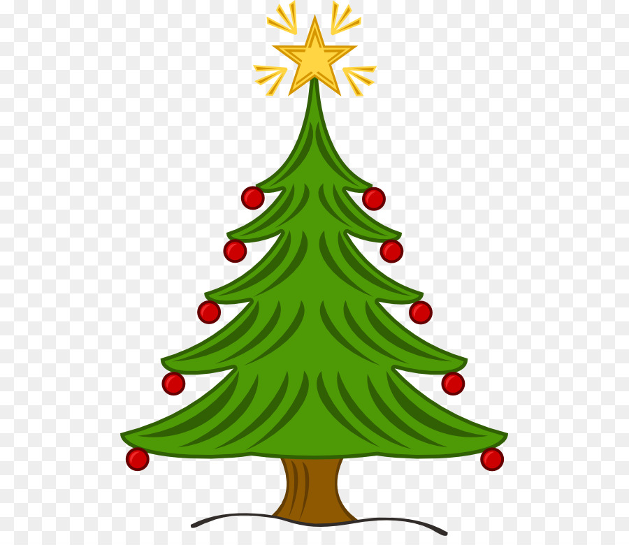 Christmas Tree Star png download.