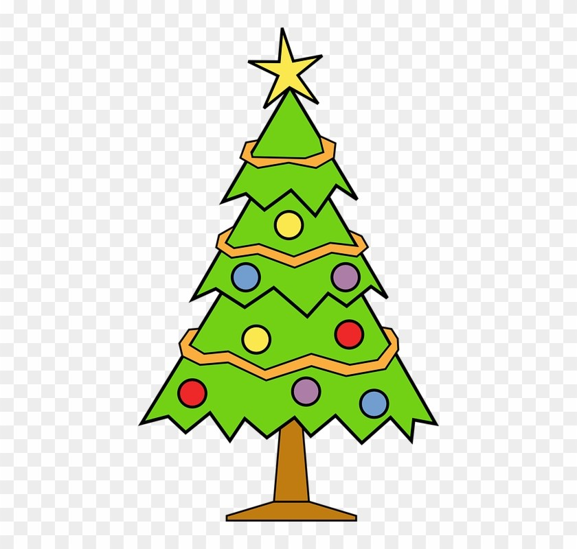 Christmas tree clipart transparent background 4 » Clipart Portal.