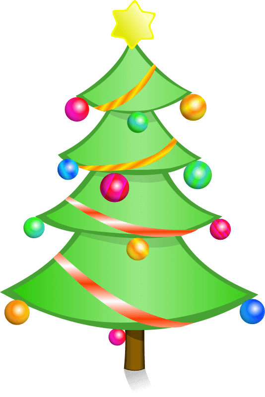 Christmas Tree Clipart Png (+).