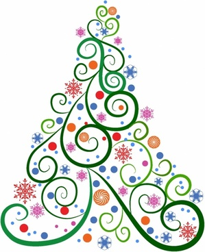 Christmas tree vector free vector download (10,716 Free.