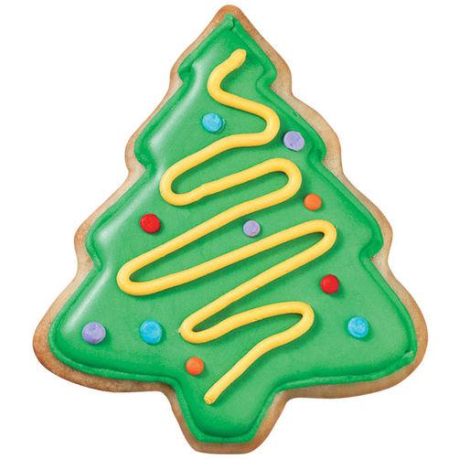 Christmas Tree Cookies.