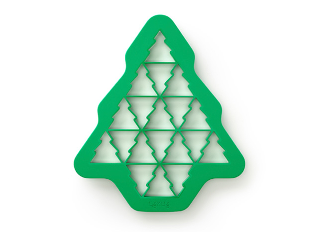 Christmas tree cookie cutter.