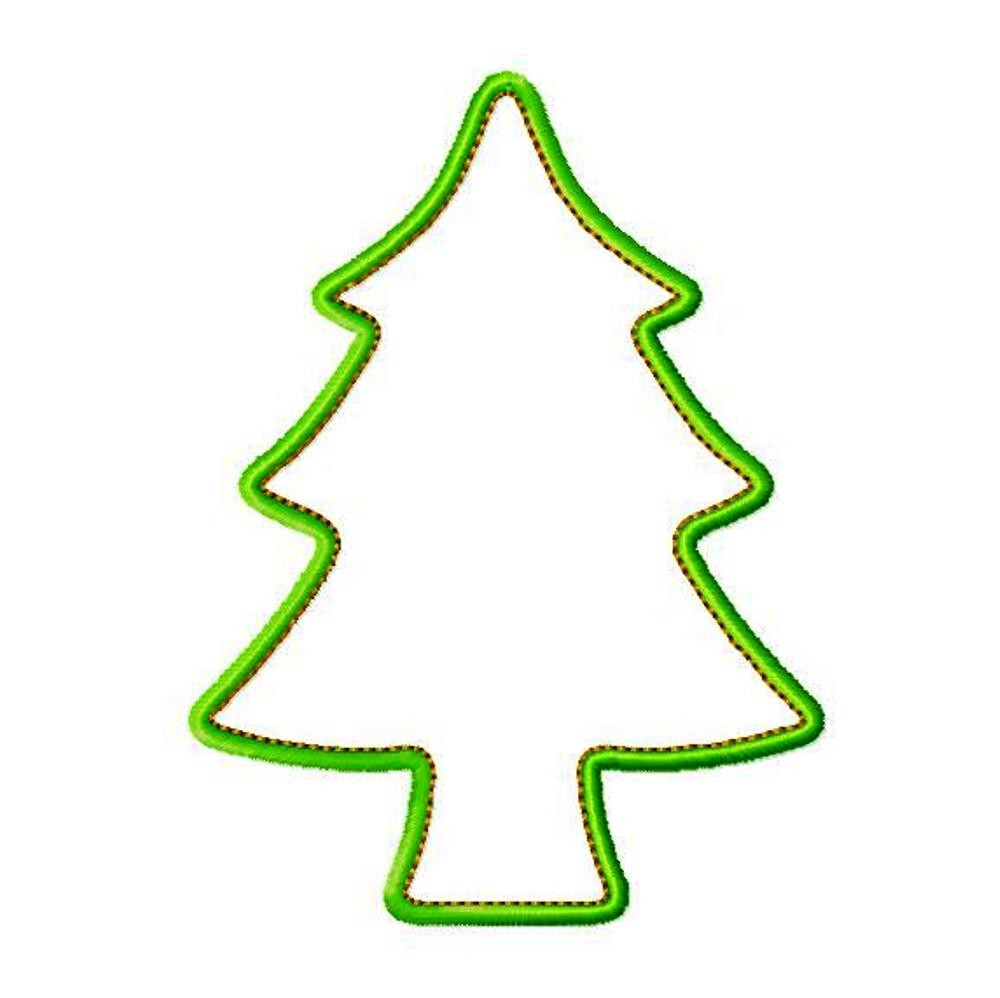 Cookie Cutter Christmas Tree.