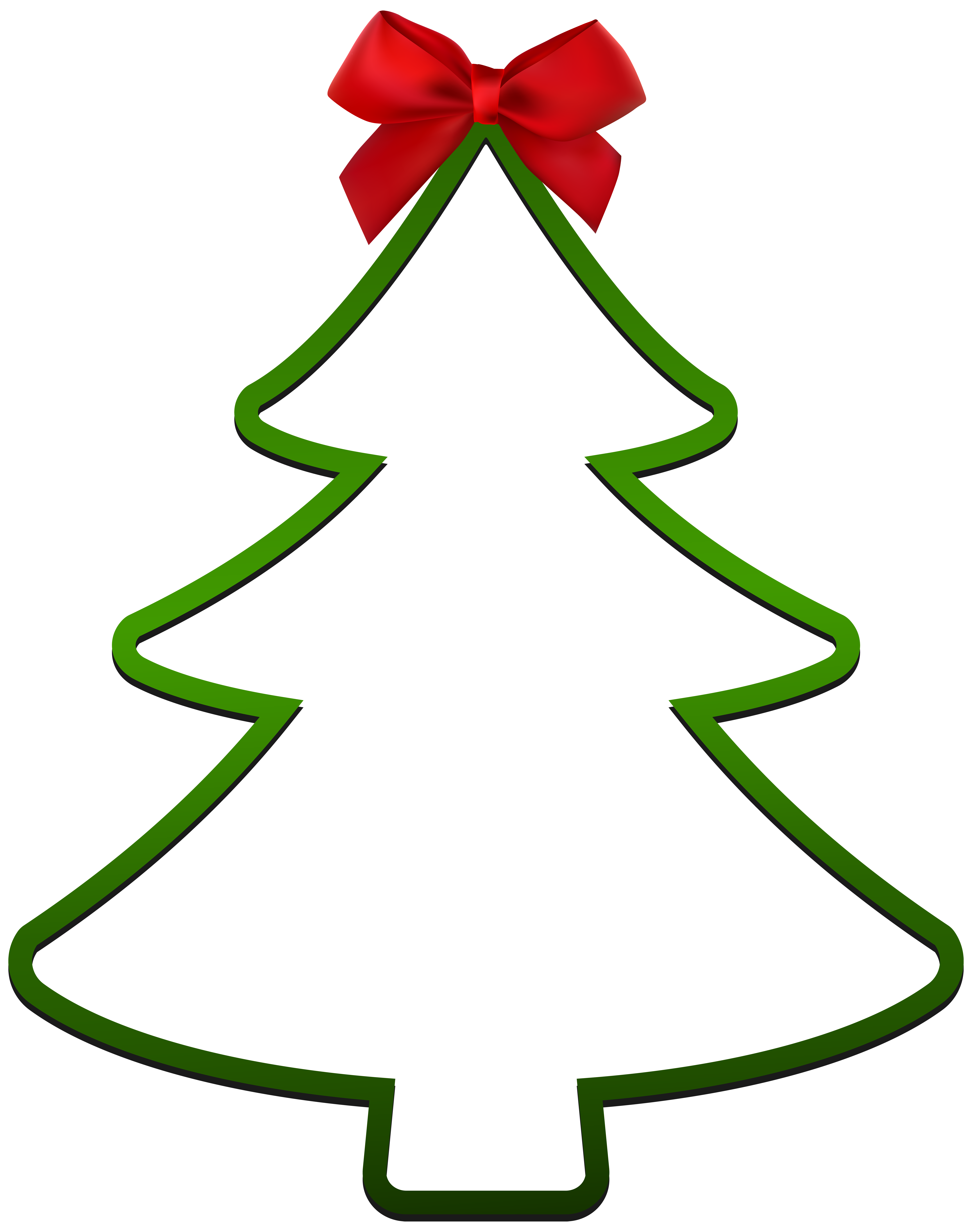 Christmas Tree Decoration PNG Clip Art.