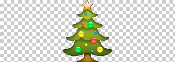 Christmas Tree Emoji, Christmas tree PNG clipart.