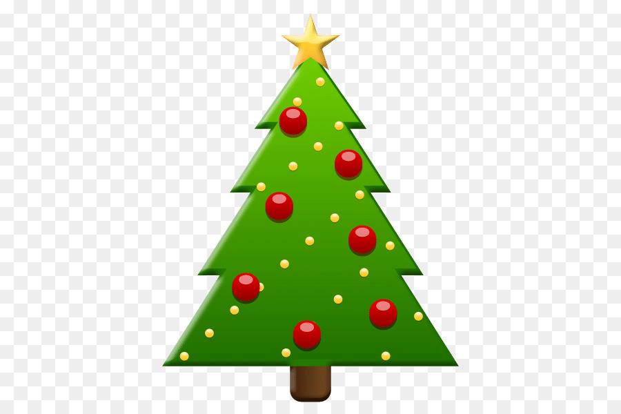 Christmas Tree Emoji.