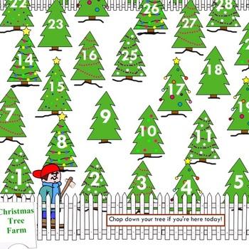 Christmas Tree Farm Attendance.