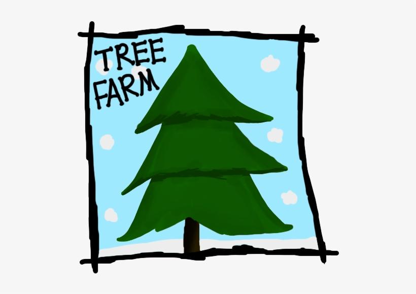 Christmas Tree Farm Clipart.