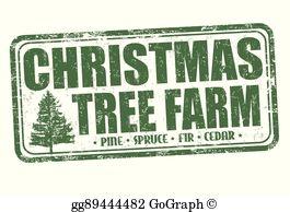 Christmas Tree Farm Clip Art.