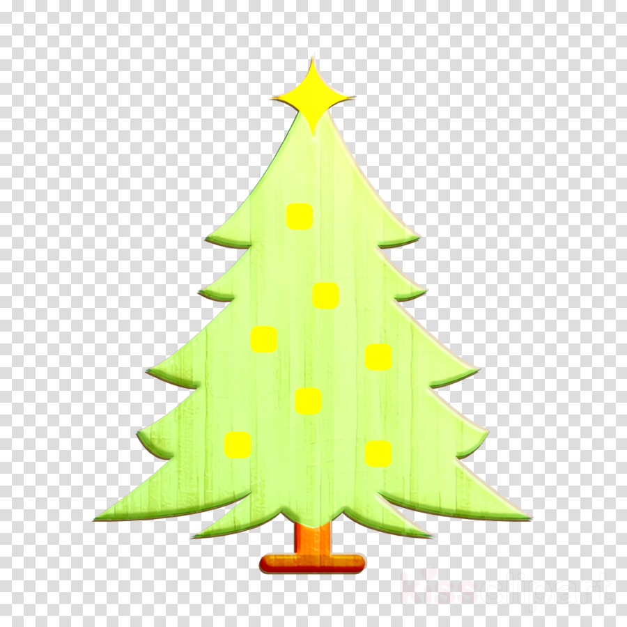 Christmas icon Christmas tree icon Winter icon clipart.