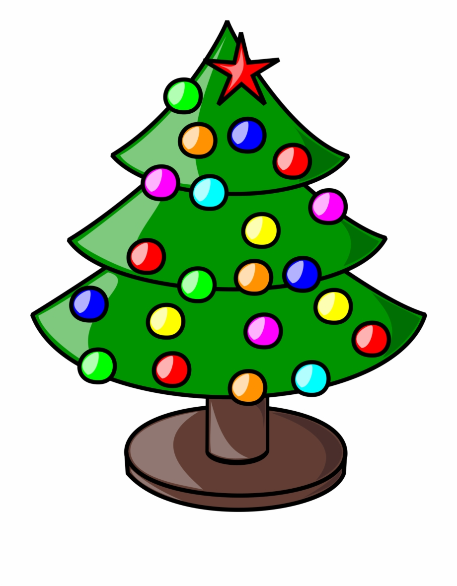 Clipart Christmas Tree.