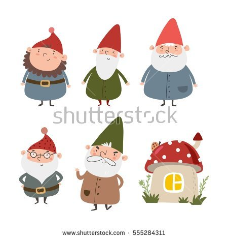 Gnome Stock Images, Royalty.