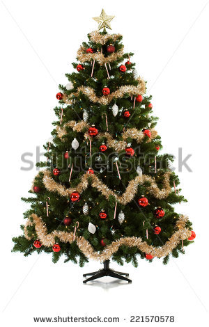 Christmas Tree Stand Stock Images, Royalty.
