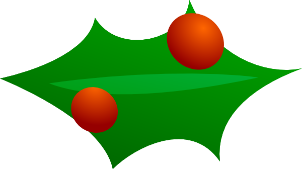 Christmas Tree Leaves Clipart.