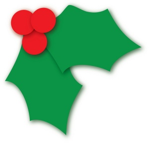 Christmas Leaves Clipart.