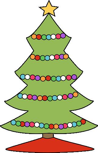 Christmas lights christmas tree clipart clipground cute christmas tree light clipart sciox Images