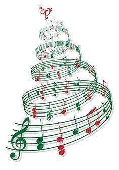 Christmas tree music clipart 6 » Clipart Portal.