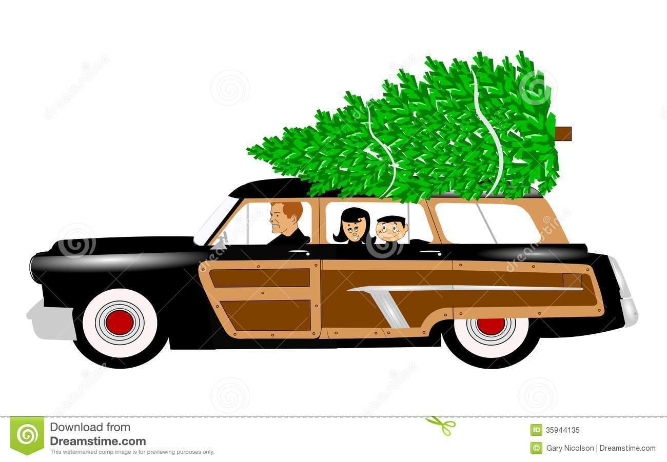 Christmas tree on car clipart 8 » Clipart Portal.