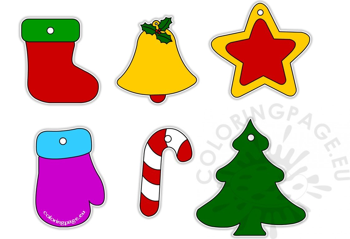 Christmas Tree Decoration Clipart.