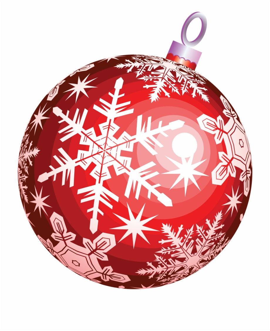 Red Christmas Balls Png.