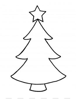 Christmas Tree Outline PNG and Christmas Tree Outline.