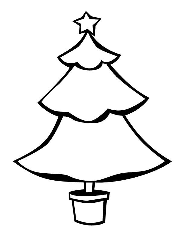 Christmas Tree Outline Png Vector, Clipart, PSD.