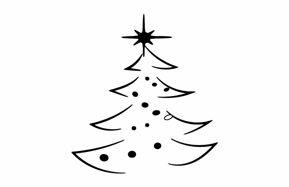 Christmas, Christmas Tree, Abstract, Decorated.