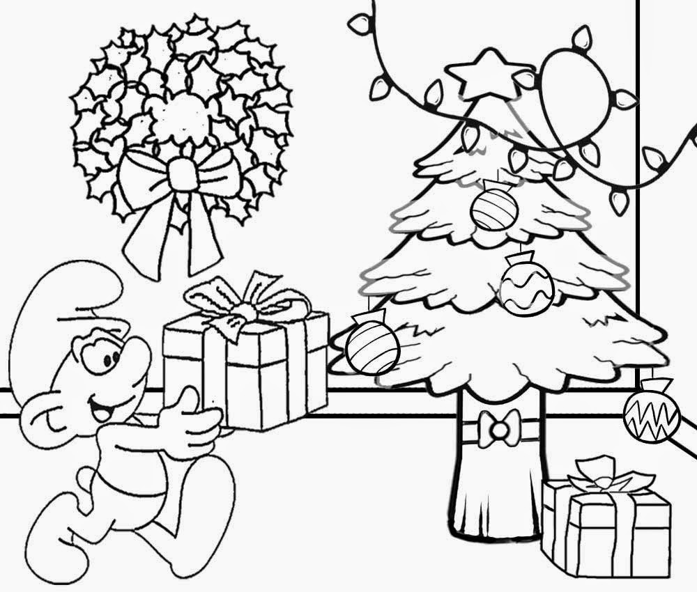 christmas tree scenery clipart