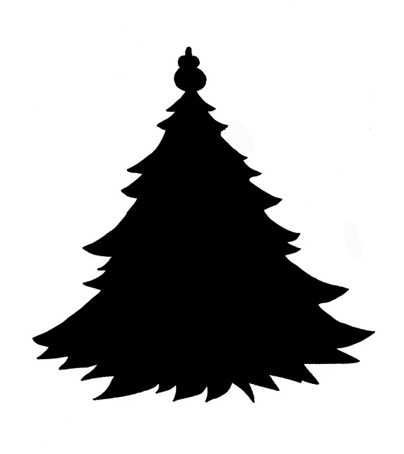Free Xmas Tree Silhouette, Download Free Clip Art, Free Clip Art on.