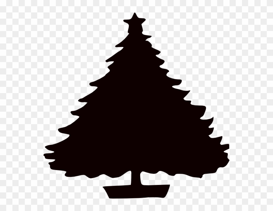 Christmas Tree Silhouette Free Download Clip Art Free.