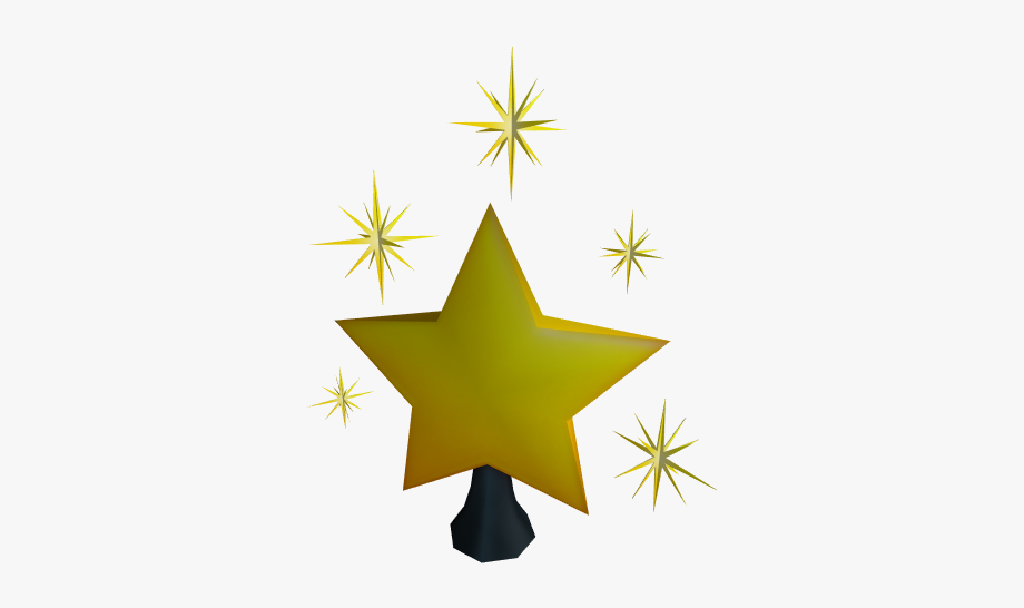 Christmas Tree Star Topper.