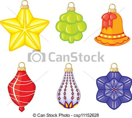 Christmas tree toy clipart - Clipground