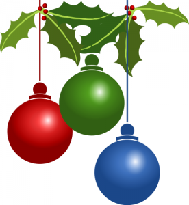 Christmas Tree Decorations Large Clip Art Download.