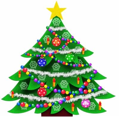 christmas tree outline.
