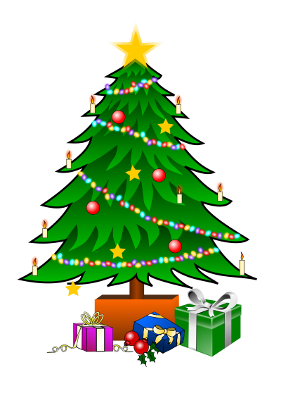 Download CHRISTMAS TREE Free PNG transparent image and clipart.