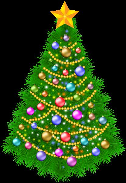Christmas Tree Transparent PNG, Christmas Decoration, Christmas Tree.