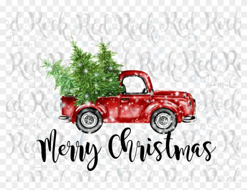 Merry Christmas Truck.