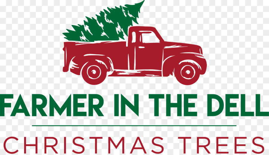 Free Old Truck With Christmas Tree Silhouette, Download Free Clip.