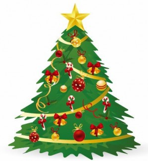 Christmas Tree Vector Illustration 3 vector free download.