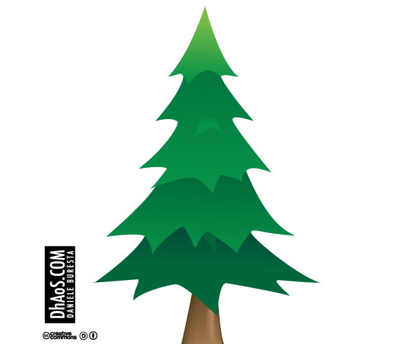 Christmas Tree Vector Image Free Download.