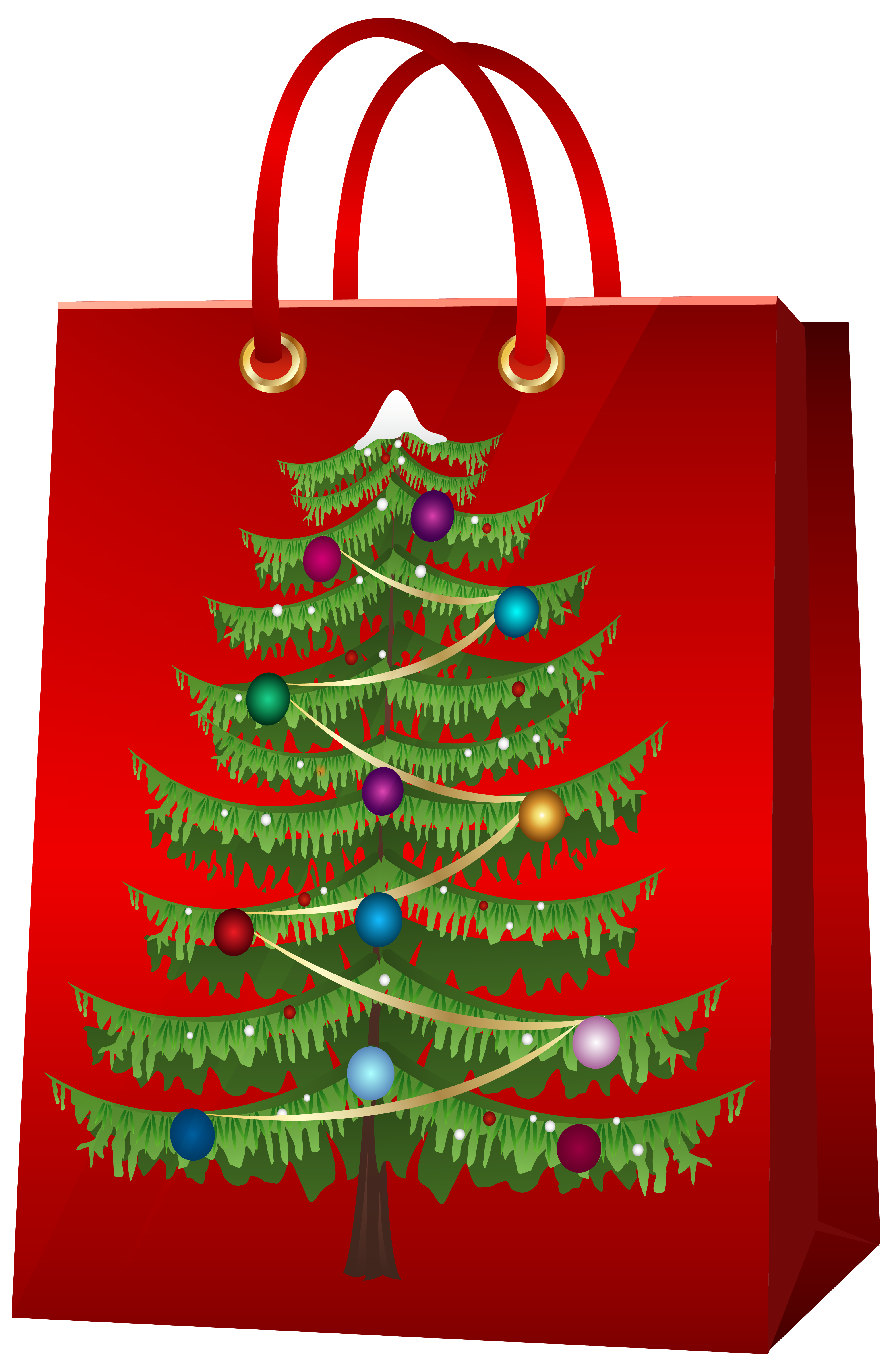 Christmas Tree With Gifts Clipart Png Clipground