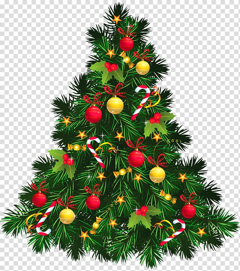 Christmas tree Christmas decoration , Christmas Tree with Ornaments.