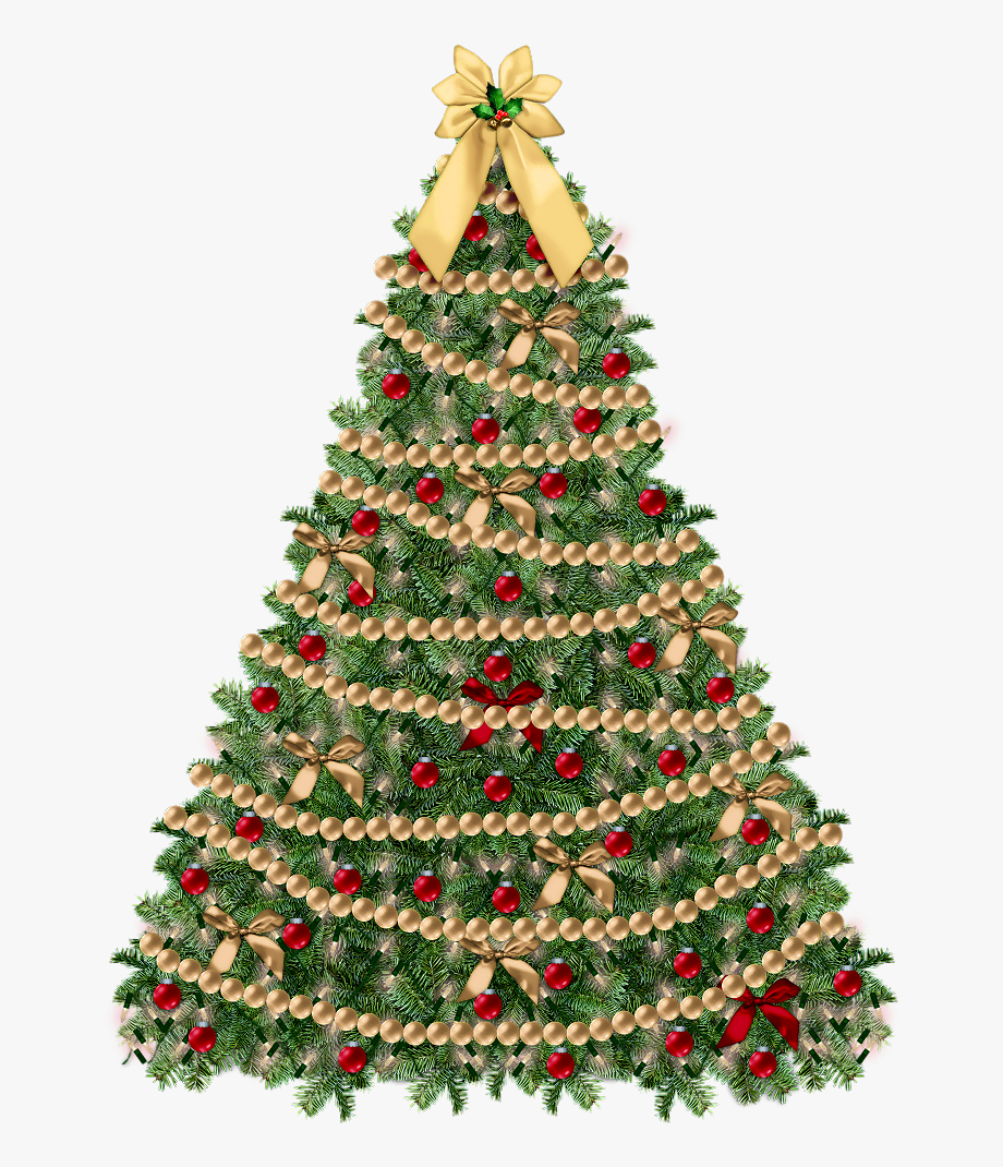 Clipart Christmas Tree With Presents.
