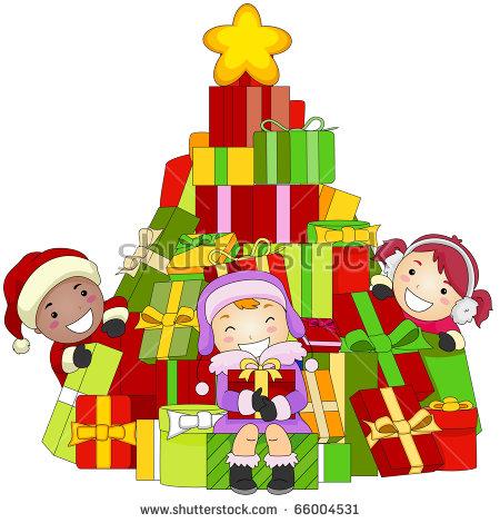 Christmas Kid Clipart Stock Photos, Royalty.