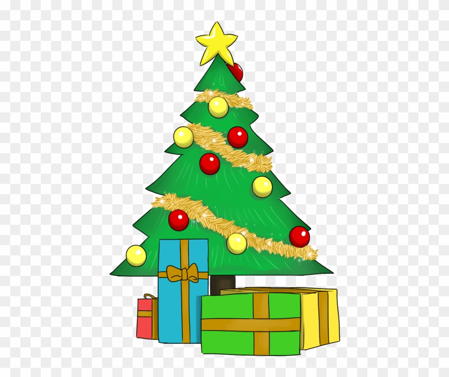 Free To Use Public Domain Christmas Tree Clip Art.