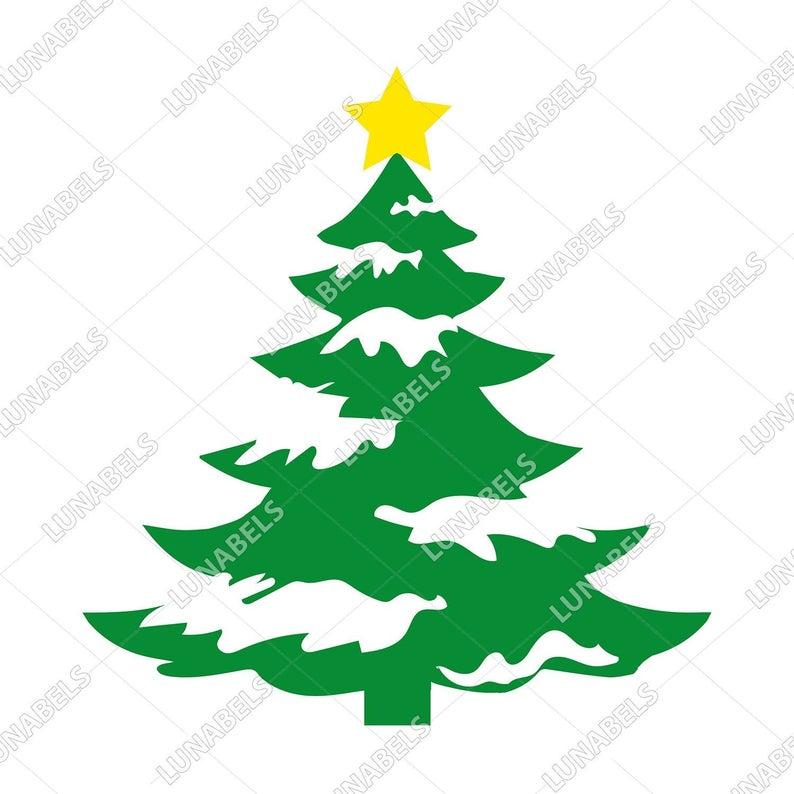 Christmas Tree Snow, Christmas decorations, Christmas Clipart, Christmas  Tree Decorations, Christmas Tree Design, Christmas border, Star.