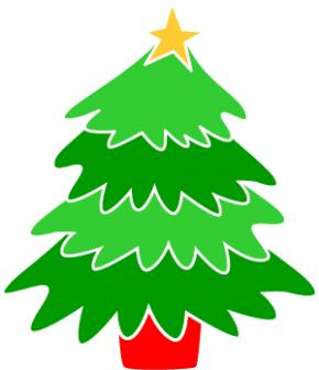 Christmas tree clipart jpeg.