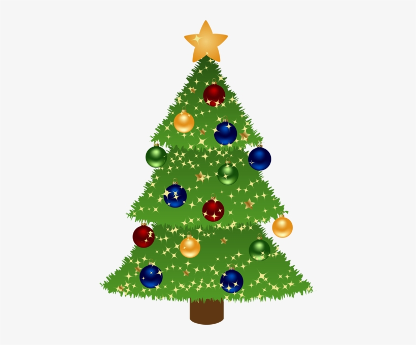 Christmas Tree Clipart Holiday Tree.
